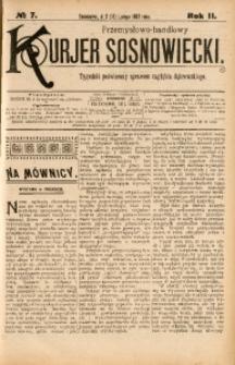 Przemysłowo-Handlowy Kurjer Sosnowiecki, 1902, R. 2, No 7