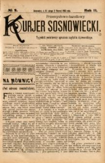 Przemysłowo-Handlowy Kurjer Sosnowiecki, 1902, R. 2, No 9