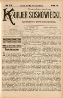 Przemysłowo-Handlowy Kurjer Sosnowiecki, 1902, R. 2, No 23