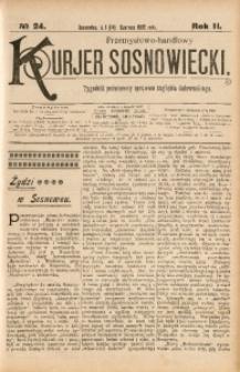 Przemysłowo-Handlowy Kurjer Sosnowiecki, 1902, R. 2, No 24