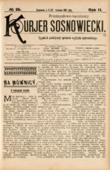 Przemysłowo-Handlowy Kurjer Sosnowiecki, 1902, R. 2, No 25