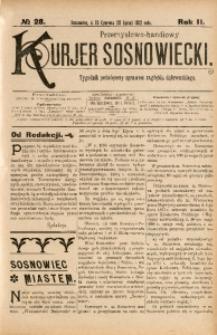 Przemysłowo-Handlowy Kurjer Sosnowiecki, 1902, R. 2, No 28