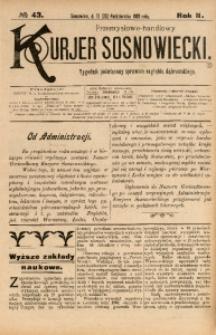Przemysłowo-Handlowy Kurjer Sosnowiecki, 1902, R. 2, No 43