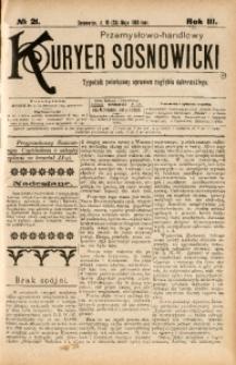 Przemysłowo-Handlowy Kurjer Sosnowiecki, 1903, R. 3, No 21