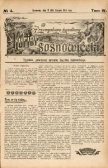 Przemysłowo-Handlowy Kurjer Sosnowiecki, 1904, R. 4, No 4
