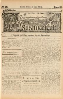 Przemysłowo-Handlowy Kurjer Sosnowiecki, 1904, R. 4, No 26