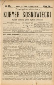 Przemysłowo-Handlowy Kurjer Sosnowiecki, 1904, R. 4, No 35