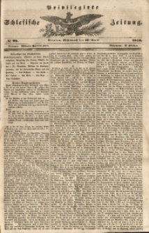 Privilegirte Schlesische Zeitung, 1846, No 99