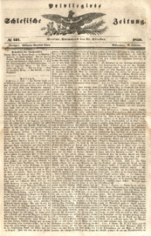 Privilegirte Schlesische Zeitung, 1846, No 237
