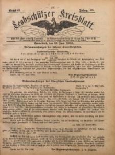 Leobschützer Kreisblatt, 1900, Jg. 59, St. 25