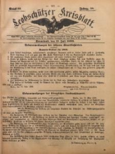 Leobschützer Kreisblatt, 1900, Jg. 59, St. 29