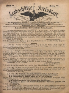 Leobschützer Kreisblatt, 1902, Jg. 60, St. 22