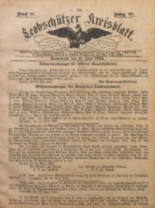 Leobschützer Kreisblatt, 1902, Jg. 60, St. 25