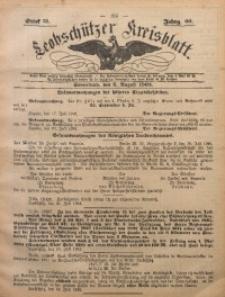 Leobschützer Kreisblatt, 1902, Jg. 60, St. 31