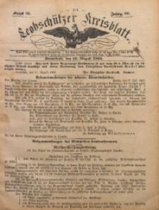 Leobschützer Kreisblatt, 1902, Jg. 60, St. 33