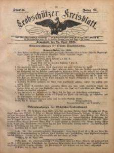 Leobschützer Kreisblatt, 1903, Jg. 61, St. 17