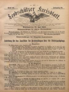Leobschützer Kreisblatt, 1903, Jg. 61, St. 25