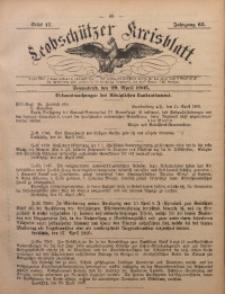 Leobschützer Kreisblatt, 1905, Jg. 63, St. 17