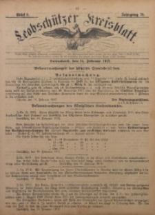 Leobschützer Kreisblatt, 1912, Jg. 70, St. 8