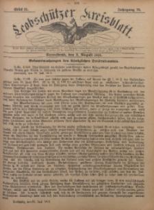 Leobschützer Kreisblatt, 1912, Jg. 70, St. 31