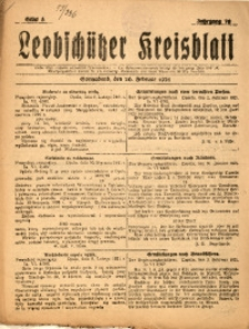 Leobschützer Kreisblatt, 1921, Jg. 79, St. 8