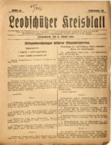 Leobschützer Kreisblatt, 1921, Jg. 79, St. 14