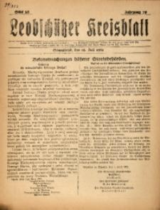 Leobschützer Kreisblatt, 1921, Jg. 79, St. 28