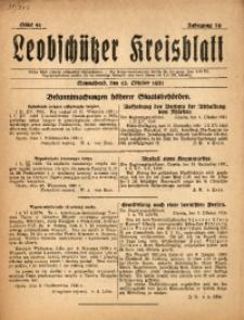 Leobschützer Kreisblatt, 1921, Jg. 79, St. 41