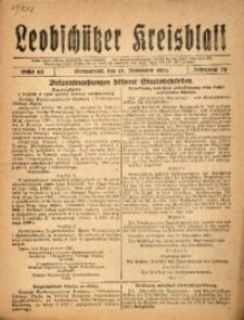 Leobschützer Kreisblatt, 1921, Jg. 79, St. 45