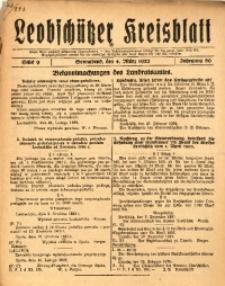 Leobschützer Kreisblatt, 1922, Jg. 80, St. 9