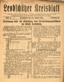 Leobschützer Kreisblatt, 1922, Jg. 80, St. 34