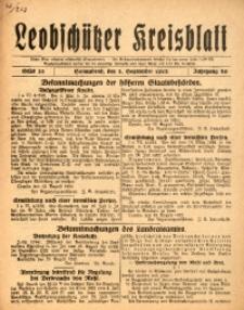 Leobschützer Kreisblatt, 1922, Jg. 80, St. 35