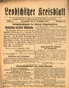 Leobschützer Kreisblatt, 1922, Jg. 80, St. 37