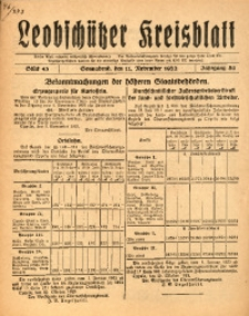Leobschützer Kreisblatt, 1922, Jg. 80, St. 45