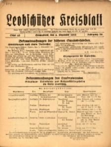 Leobschützer Kreisblatt, 1922, Jg. 80, St. 48