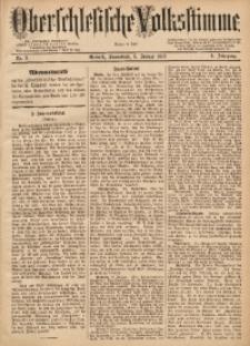 Oberschlesische Volksstimme, 1883, Jg. 9, Nr. 2