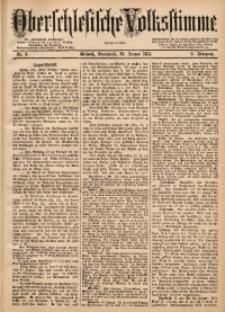 Oberschlesische Volksstimme, 1883, Jg. 9, Nr. 8