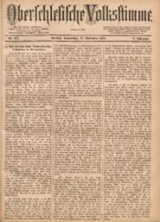 Oberschlesische Volksstimme, 1883, Jg. 9, Nr. 107