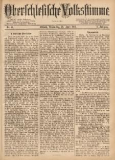 Oberschlesische Volksstimme, 1883, Jg. 9, Nr. 48