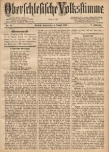 Oberschlesische Volksstimme, 1883, Jg. 9, Nr. 90