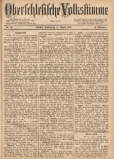 Oberschlesische Volksstimme, 1883, Jg. 9, Nr. 95