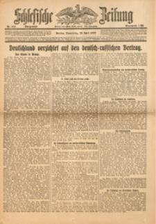 Schlesische Zeitung, 1922, Nr. 183
