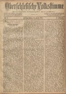 Oberschlesische Volksstimme, 1885, Jg. 11, Nr. 6