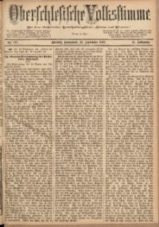 Oberschlesische Volksstimme, 1885, Jg. 11, Nr. 111