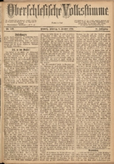 Oberschlesische Volksstimme, 1885, Jg. 11, Nr. 120