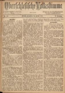 Oberschlesische Volksstimme, 1885, Jg. 11, Nr. 136