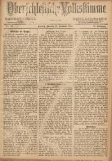 Oberschlesische Volksstimme, 1885, Jg. 11, Nr. 179