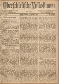Oberschlesische Volksstimme, 1885, Jg. 11, Nr. 189