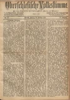 Oberschlesische Volksstimme, 1885, Jg. 11, Nr. 24