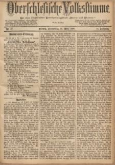 Oberschlesische Volksstimme, 1885, Jg. 11, Nr. 37